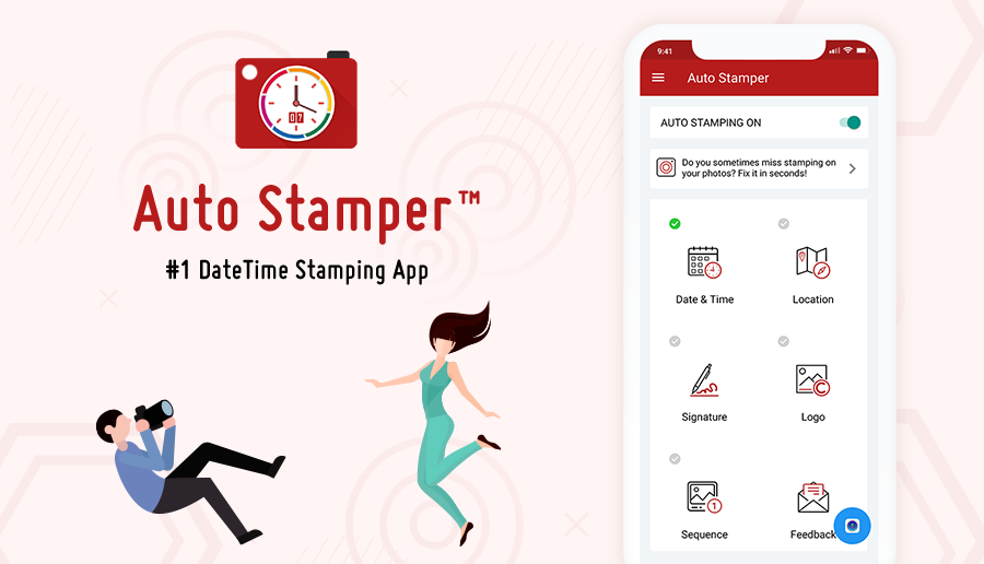One more feature added and Auto Stamper became 5 In 1 Stamp App.