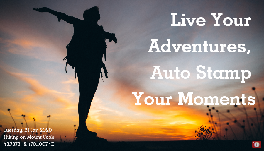 Store your Adventurous Memories in exact progression that you lived.