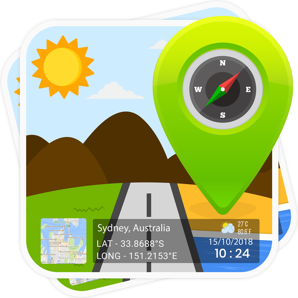 Auto insert GPS / Location Stamp on your Photos with Auto
